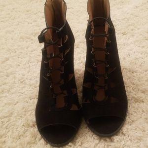 Charlotte Russe Open Toe shoe